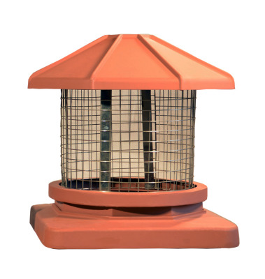 Proper Topper Chimney Cap by Extend-a-Flue for 12x12 inch flue