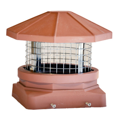 Proper Topper Decorative Chimney Cap for 8x8 inch flue by Extend-a-Flue