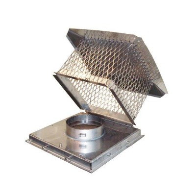 Deluxe Terra Cotta Chimney Liner Cap for Boost-a-Cap by Extend-a-Flue